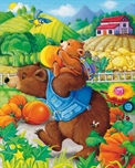 Picture of Bears Piggy Back - Hidden Objects